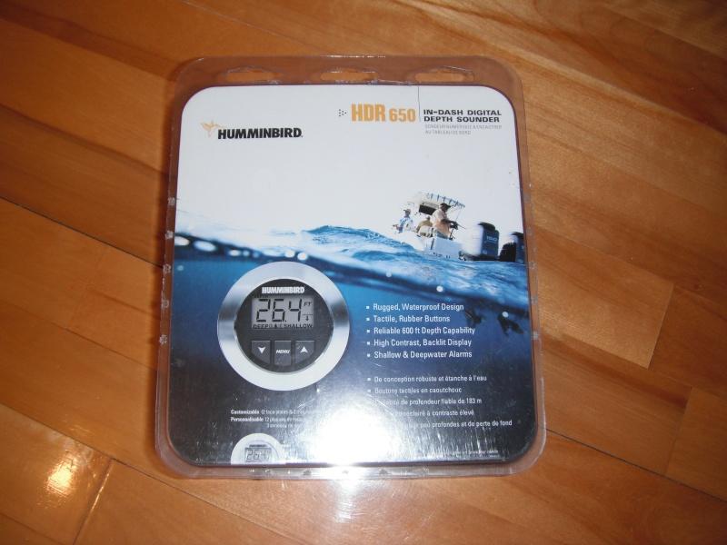 Profondimètre Humminbird universel HDR 650 a vendre VENDU Dscf1510