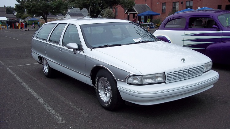 Recently finished '94 Caprice wagon part II 10-6-112