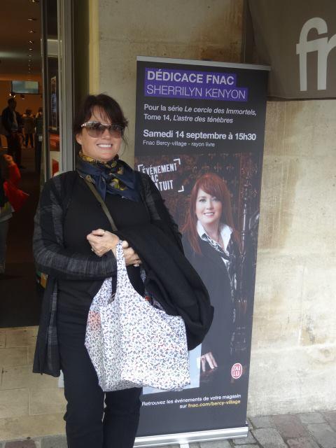 Rencontre magique avec SHERRILYN KENYON - Paris, septembre 2013 Fnac10