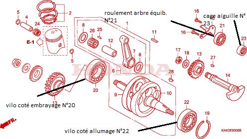 Roulements et joints spys Vilo_c10