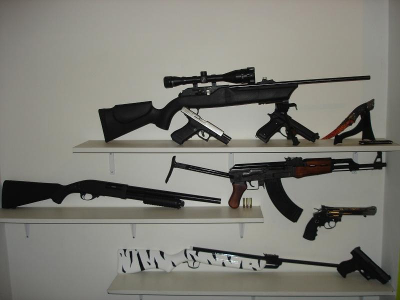 nouvelles armes recues pour mon anniversaire  Dsc00610