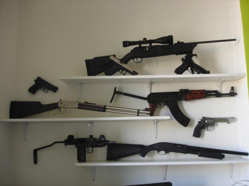 nouvelles armes recues pour mon anniversaire  Dsc00611