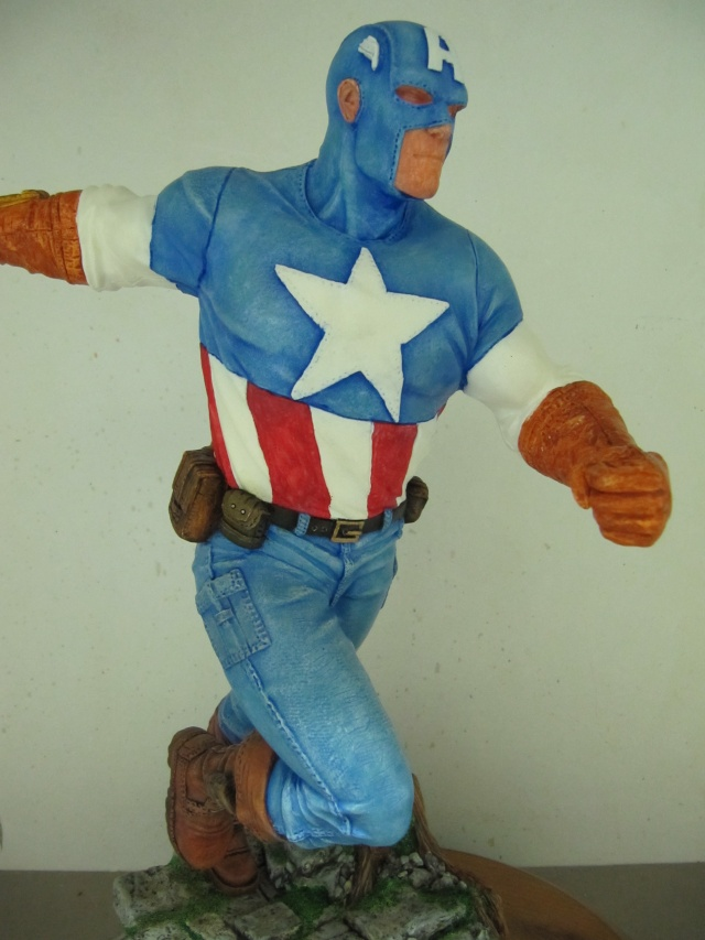 Kit 1/6 : Captain América . Img_9822