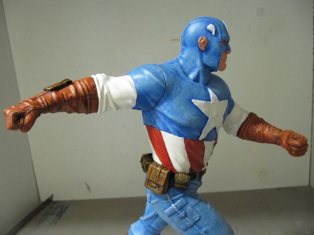 Kit 1/6 : Captain América . Img_9825