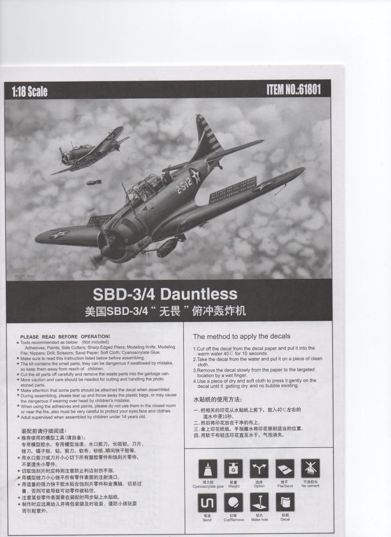 SBD 3/4 Dauntless 1/18 Merit Dauntl11