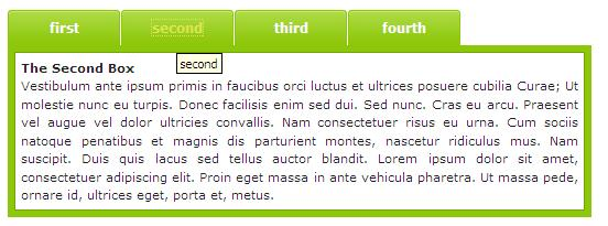 CSS: Tab Styled Accordion Untitl10