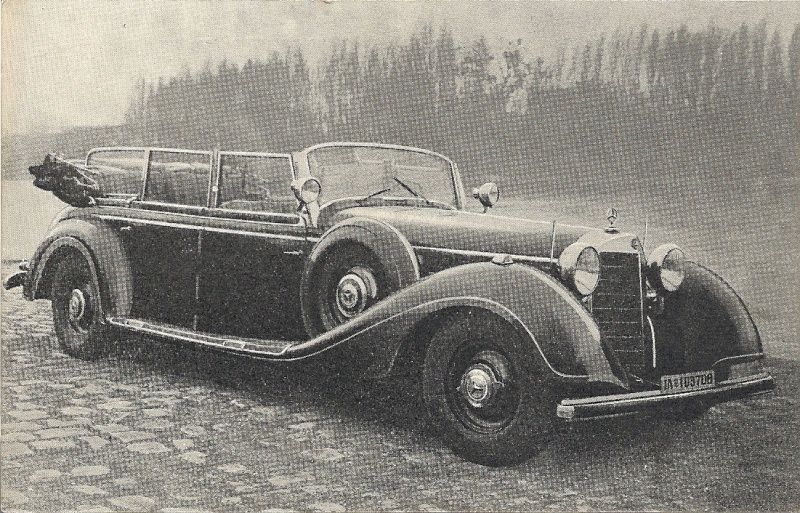 Une limousine allemande hors quota Numari29