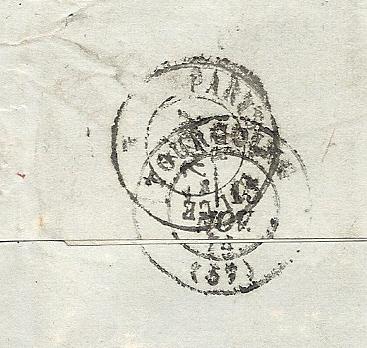Entrée des Etats unis par cherbourg en 1874 Numari37