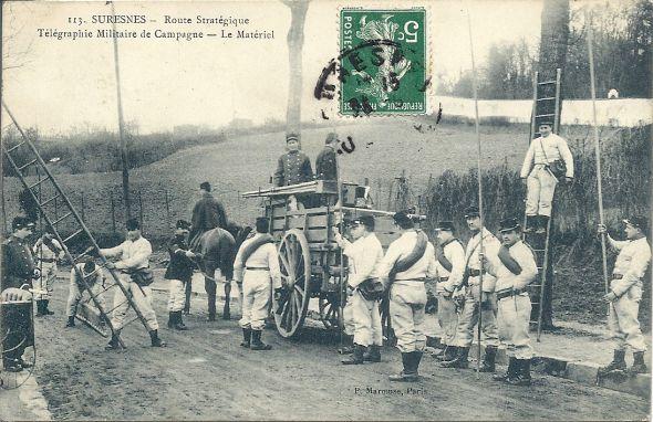 Télégraphe militaire Numari43