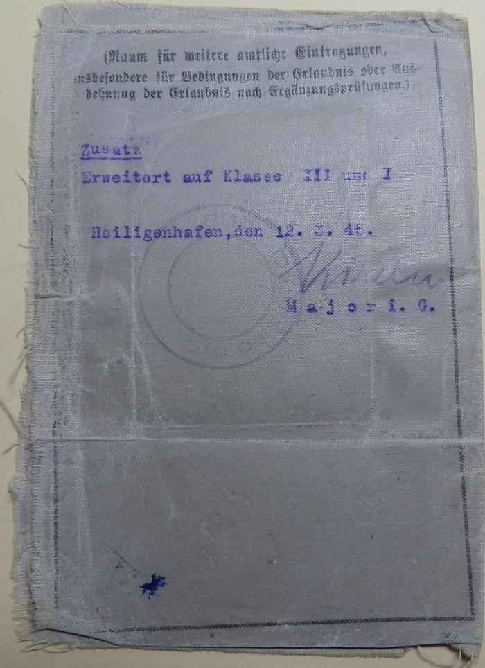 Le permis conduire dans la Wehrmacht 1491810