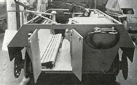 Projets des véhicules spéciaux de la Wh, pas trés connues 710