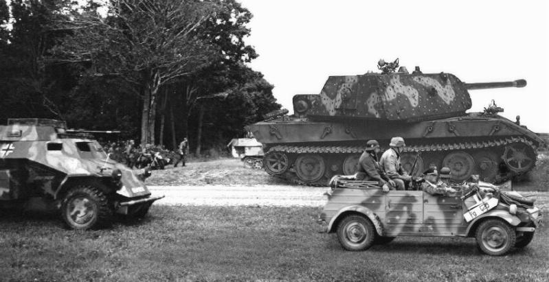 Les chars allemands monstrueux, une intox apparue dès 1943. E100_210