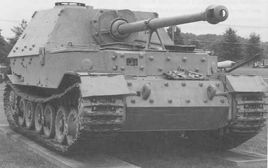 Panzerjaegerabteilung-Détachement des chasseurs de char Ferdin10