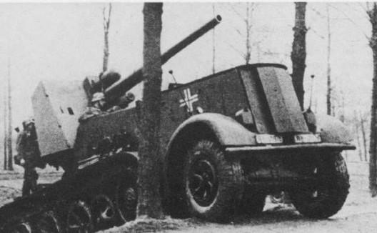 Panzerjaegerabteilung-Détachement des chasseurs de char Flak1810