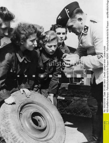 Le permis conduire dans la Wehrmacht Frauen11