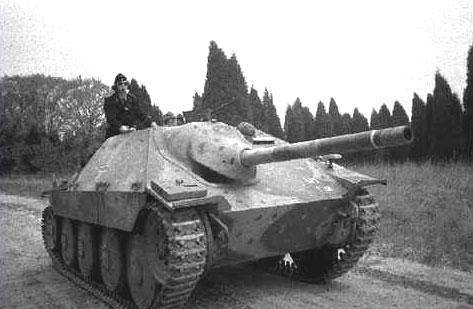 Panzerjaegerabteilung-Détachement des chasseurs de char Hetzer10