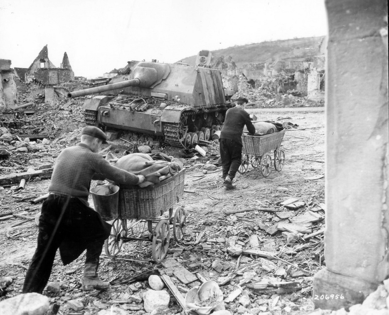 Panzerjaegerabteilung-Détachement des chasseurs de char Jagdpa10