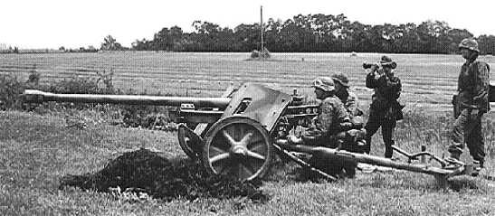 Panzerjaegerabteilung-Détachement des chasseurs de char Pak3810