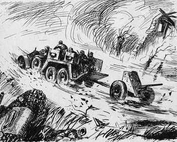 Panzerjaegerabteilung-Détachement des chasseurs de char Panzer10