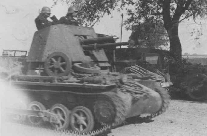 Panzerjaegerabteilung-Détachement des chasseurs de char Pzjaeg10