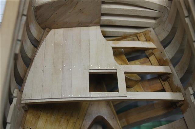 La Belle 1684 scala 1/24  piani ANCRE cantiere di grisuzone  Img_2010