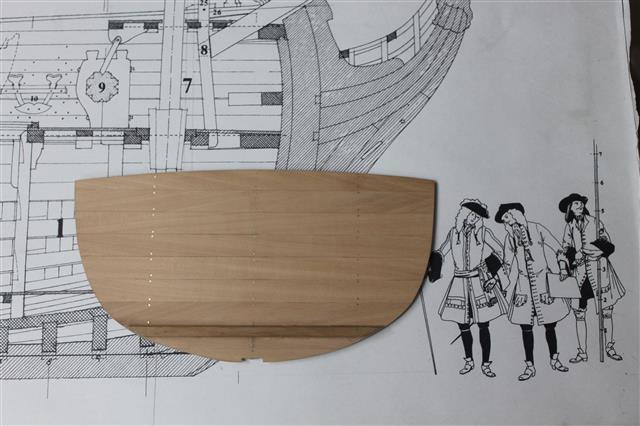 La Belle 1684 scala 1/24  piani ANCRE cantiere di grisuzone  Img_2112