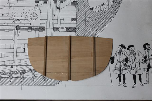 La Belle 1684 scala 1/24  piani ANCRE cantiere di grisuzone  Img_2113