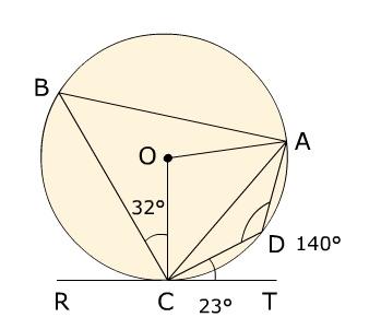 Circle theorem question Circle10
