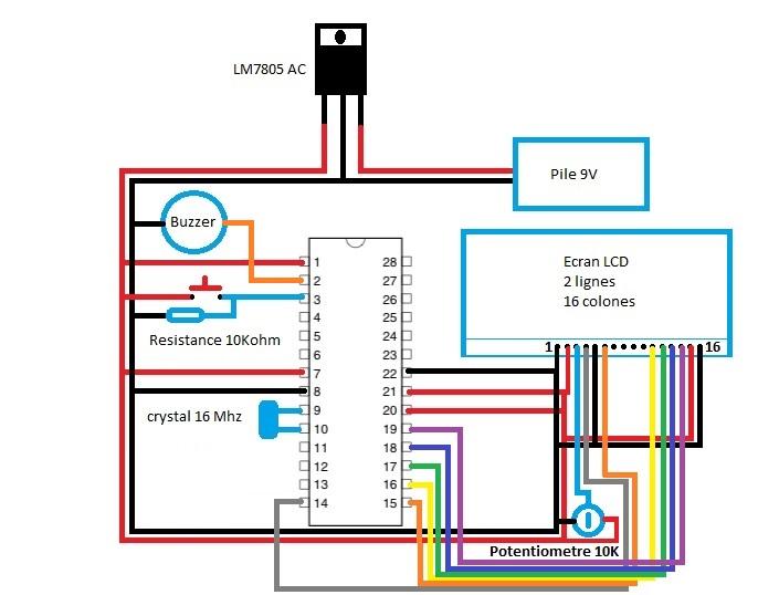 Checkpoint avec Arduino l'étude.. - Page 2 Circui11