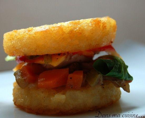 Mini faux Burgers de Rösti... 61879210