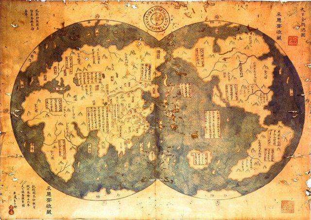 Ammiraglio ZHENG HE. Mappa_11