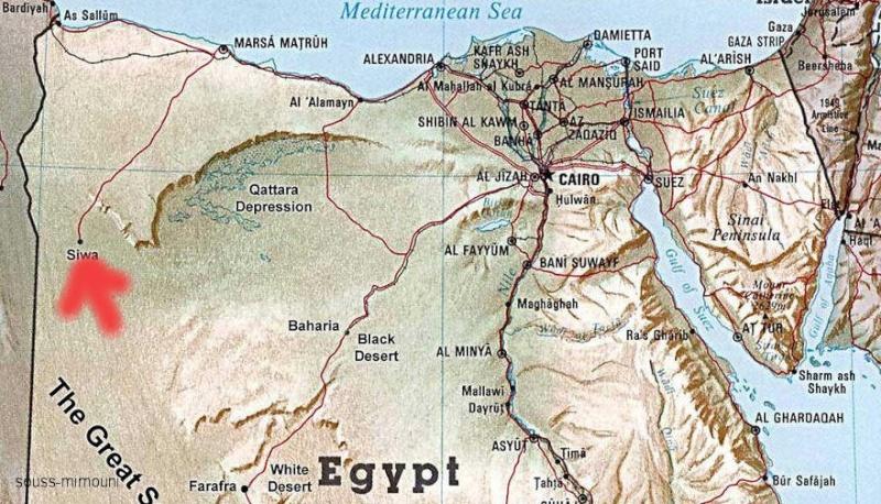 الميموني - Avec Mimouni a l'Oasis de Siwa الميموني: جميعا الي واحة سيوا Siwa610