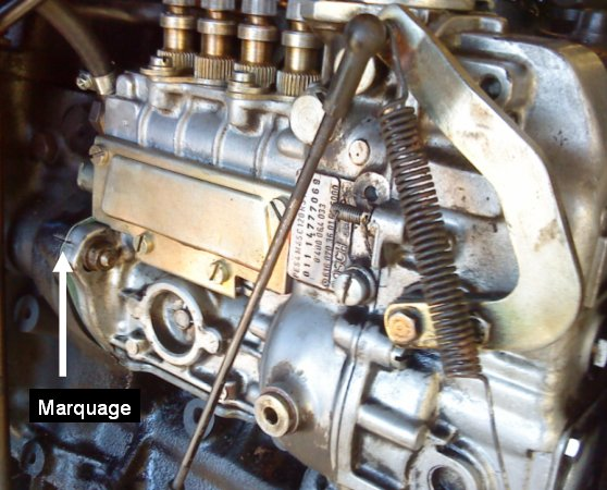 amorcage pompe injection 421 sur moteur 616.911 - Page 2 Diesel14