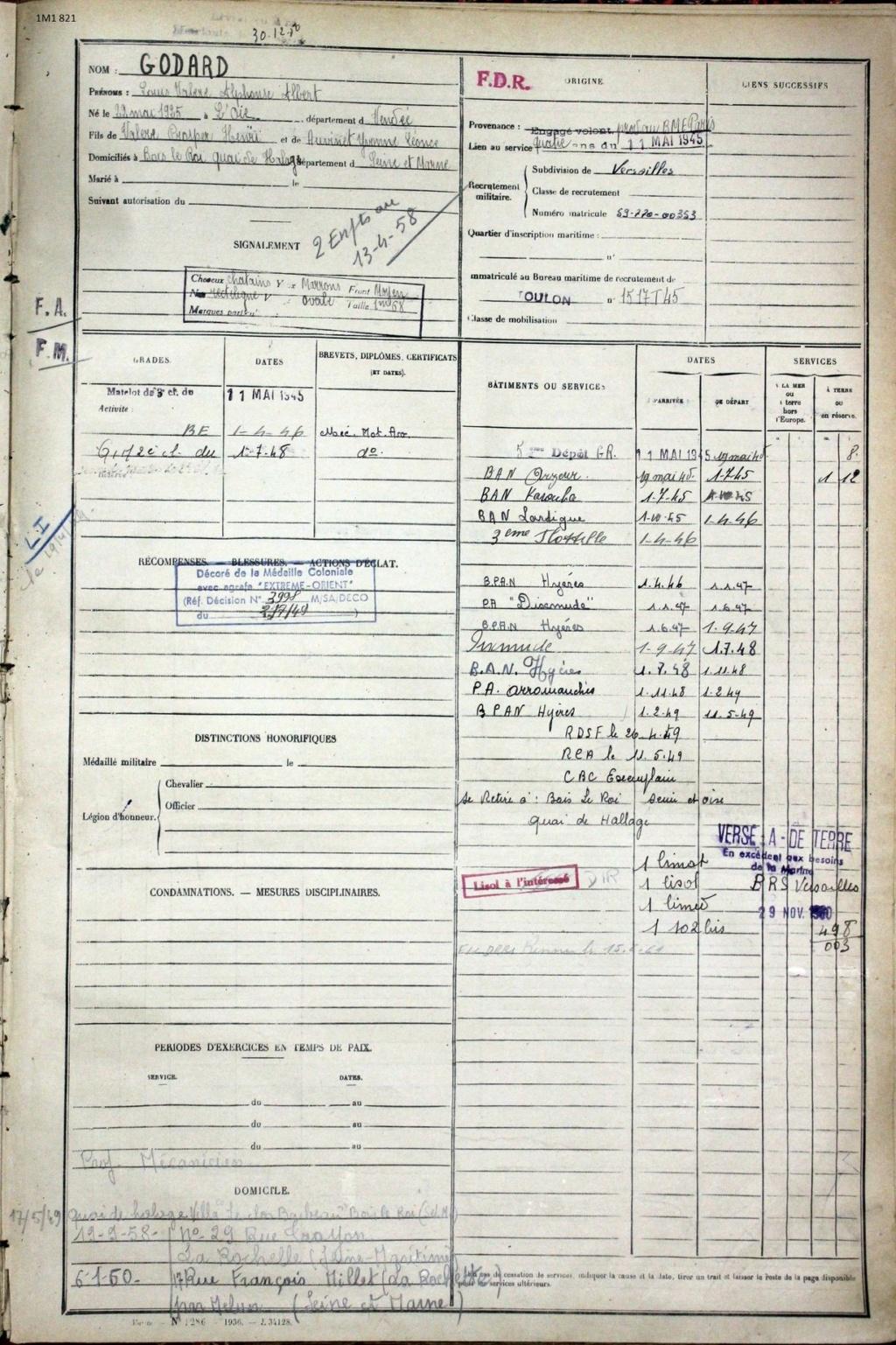 [ Blog visiteurs ] Recherche personnes qui ont pu connaitre mon père QM1 sur le Dixmude - Page 2 Godard11