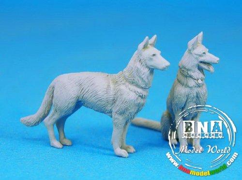 équipage de chiens de traineau (avec pick-up Meng - 1/35) 86cf3c10