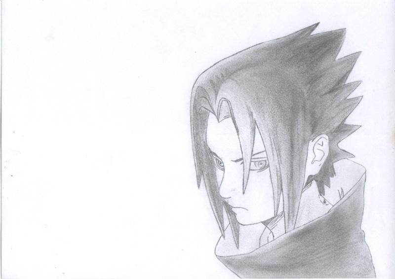 Dessin made in solé Sasuke12
