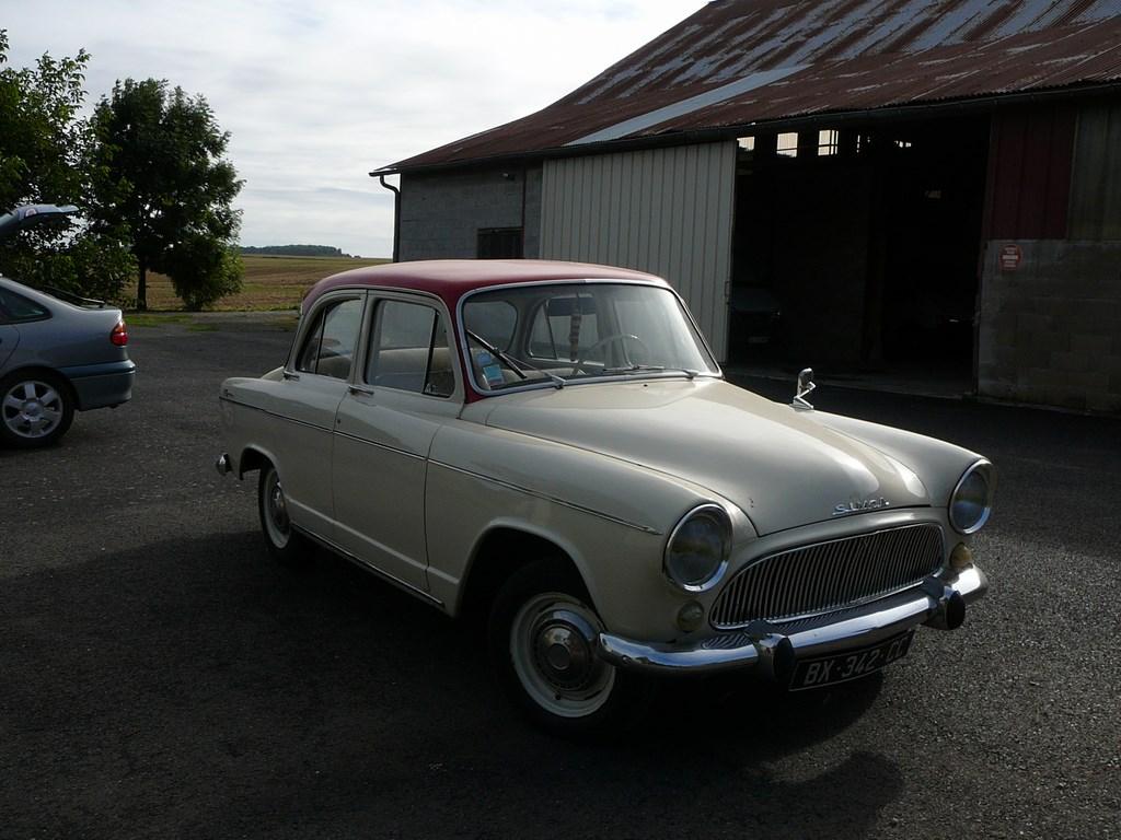 Simca P60 de 1961 P1070416