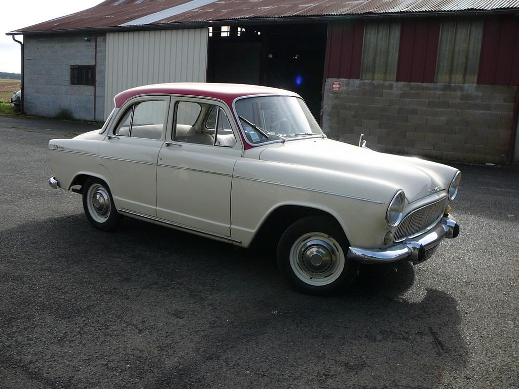 Simca P60 de 1961 P1070419