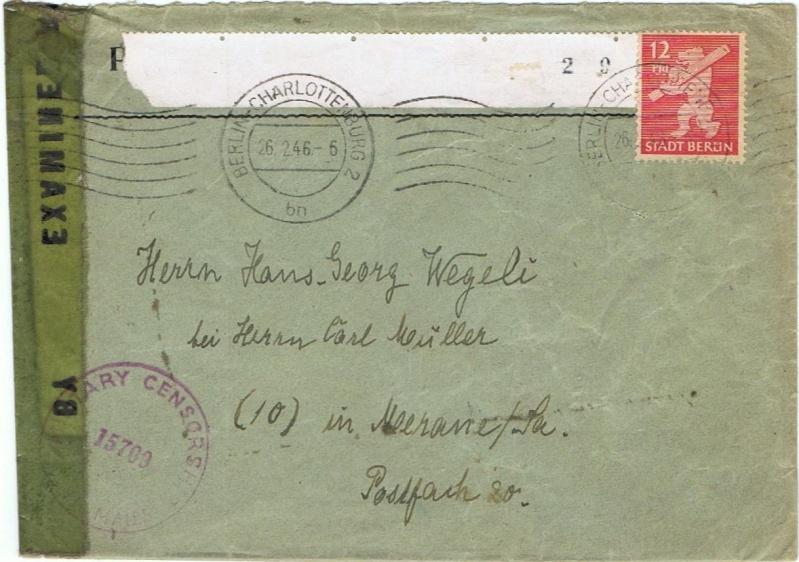 Berlin - Brandenburg (OPD Potsdam) -Sowjetische Besatzungszone- 5_a_1910