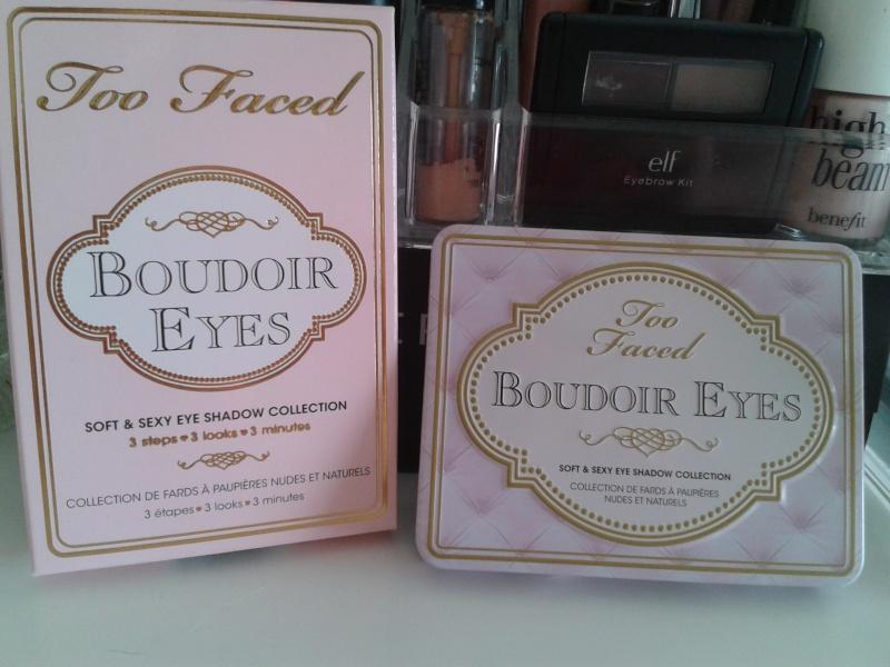 Palette Too Faced Boudoir eyes ou In the light de Stila ? 2013-010