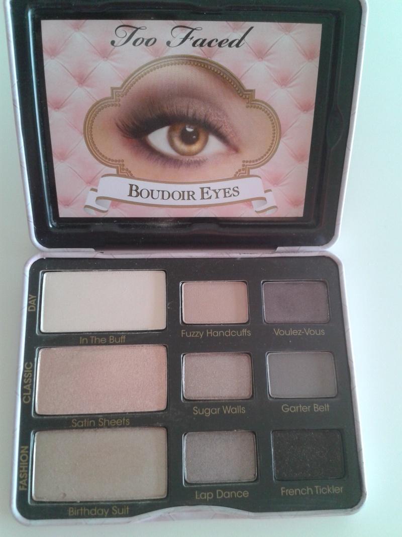 Palette Too Faced Boudoir eyes ou In the light de Stila ? 2013-012