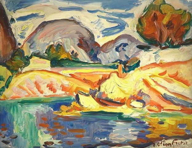PEINTURE FRANCAISE: un mouvement, un peintre, une oeuvre - Page 2 Othon_15