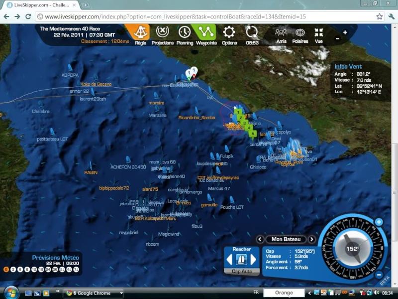 The Mediterranean 40 Race  Départ le 20/02/2011 à 15H00 GMT - Page 4 Captu142