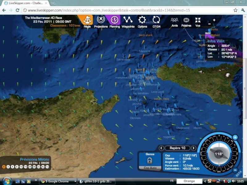 The Mediterranean 40 Race  Départ le 20/02/2011 à 15H00 GMT - Page 6 Captu164