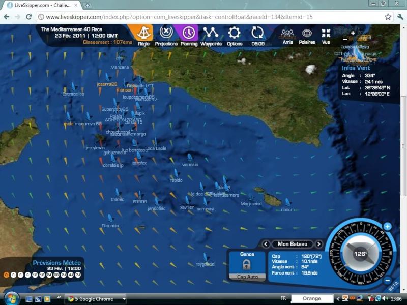 The Mediterranean 40 Race  Départ le 20/02/2011 à 15H00 GMT - Page 6 Captu174