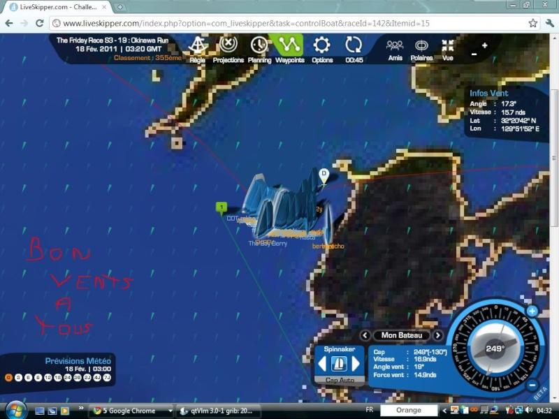 The Friday Race S3 - 19 : Okinawa Run  départ le 18/02/2011 à 3h00 GMT Captur34
