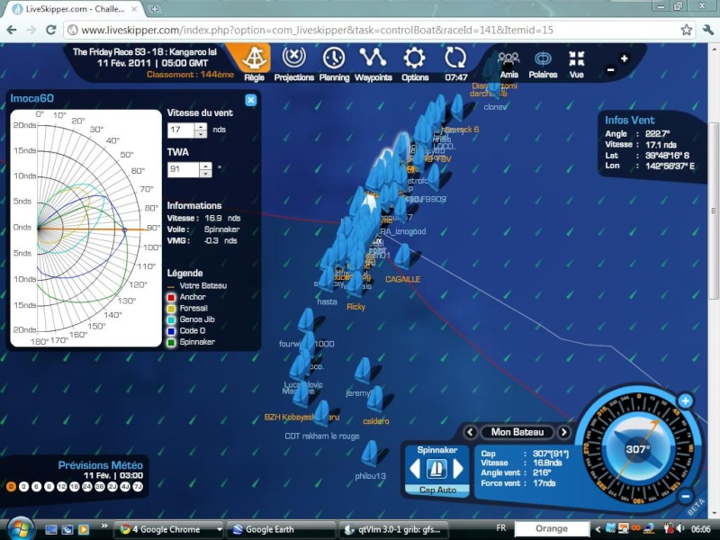 The Friday Race S3 - 18 : Kangaroo Island le 11/02/2011 à 01h00 GMT Easyc131
