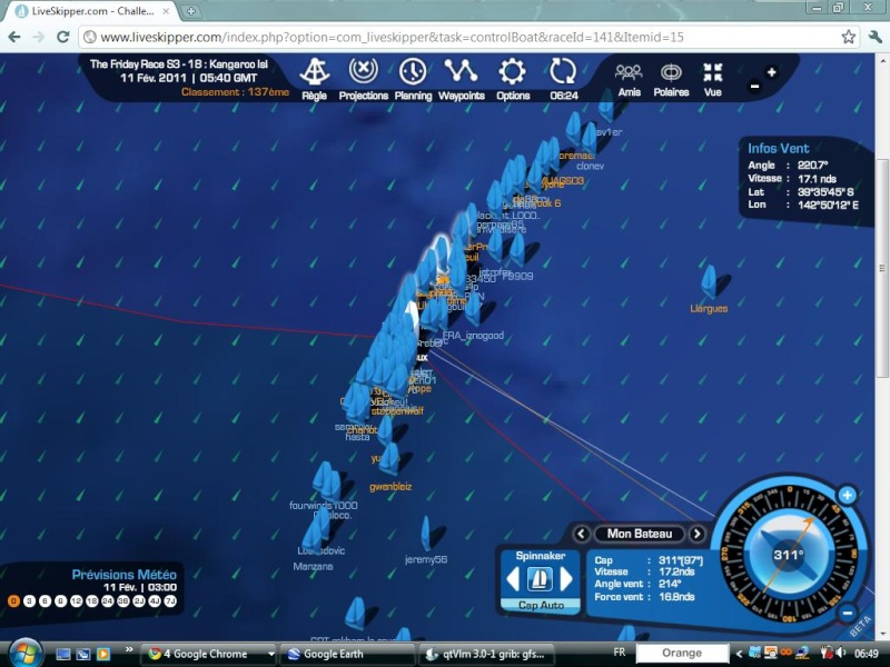 The Friday Race S3 - 18 : Kangaroo Island le 11/02/2011 à 01h00 GMT Easyc132