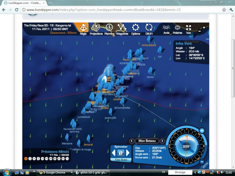 The Friday Race S3 - 18 : Kangaroo Island le 11/02/2011 à 01h00 GMT Easyc138