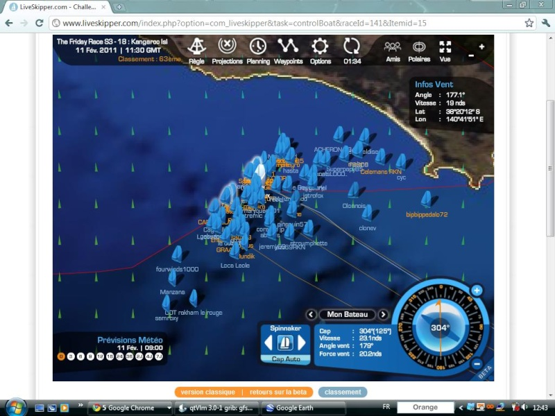 The Friday Race S3 - 18 : Kangaroo Island le 11/02/2011 à 01h00 GMT Easyc141